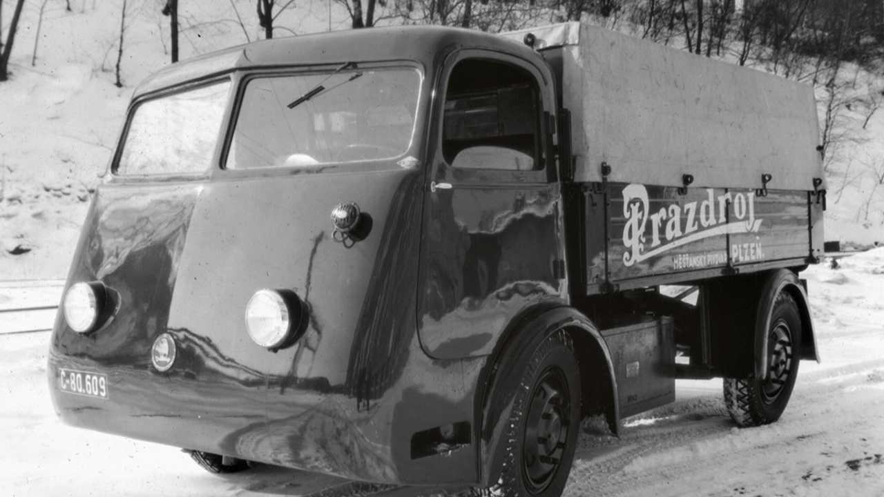 Skoda régi elektromos autók