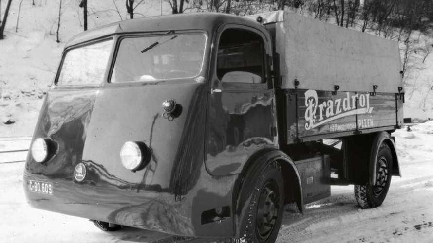 Ezzel az elektromos teherautóval oldotta meg a Skoda a sörellátást 1939-ben