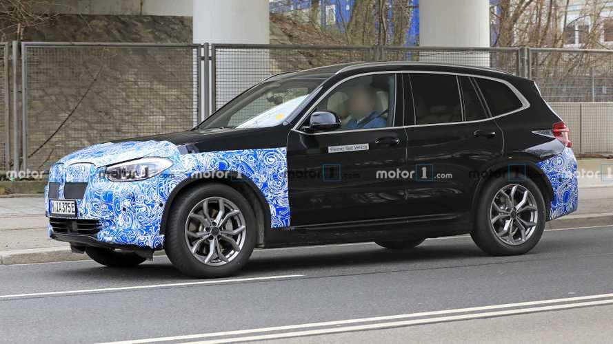 New BMW iX3 Spy Photos Show What We Already Know
