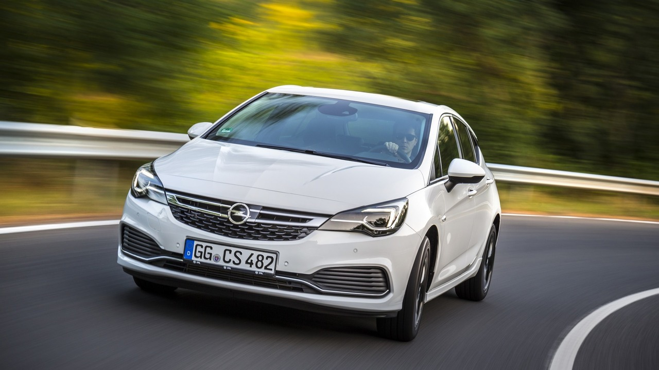 opel astra 2018 opc line