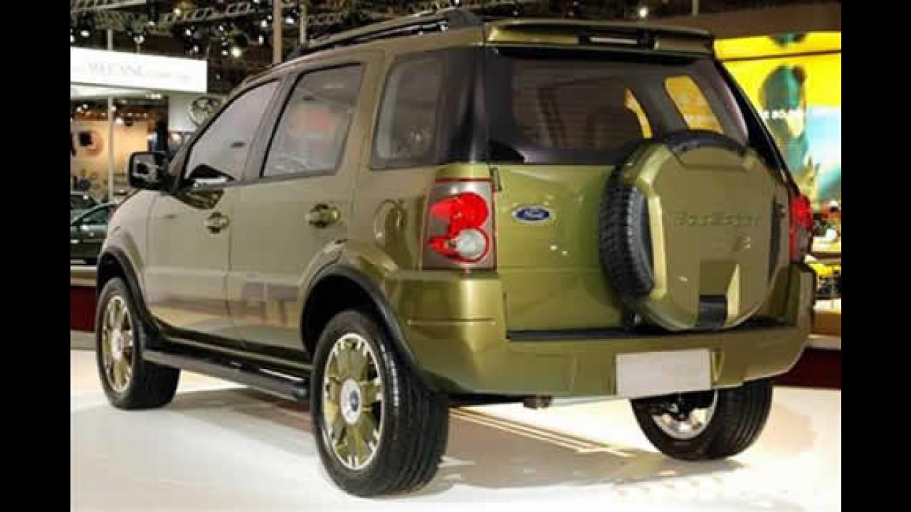Conheça o novo Ford Ecosport 2008 - Veja fotos do novo modelo