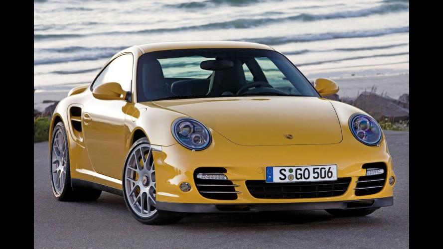 Porsche 911 Turbo 2010 tem motor de 500cv e mudanças visuais - Veja galeria de fotos