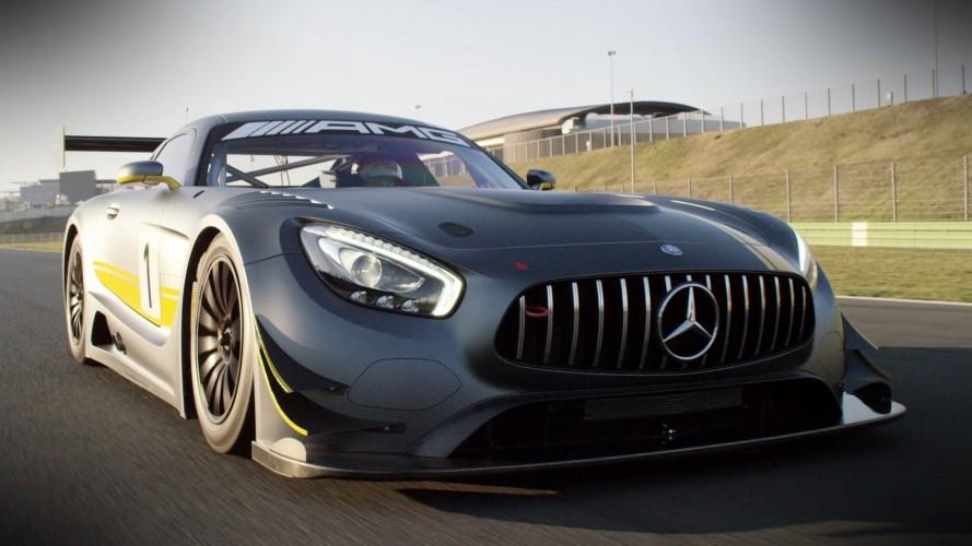 """Mercedes """"şeytani"""" görünümlü AMG GT3 ile Super GT'ye hazır"""