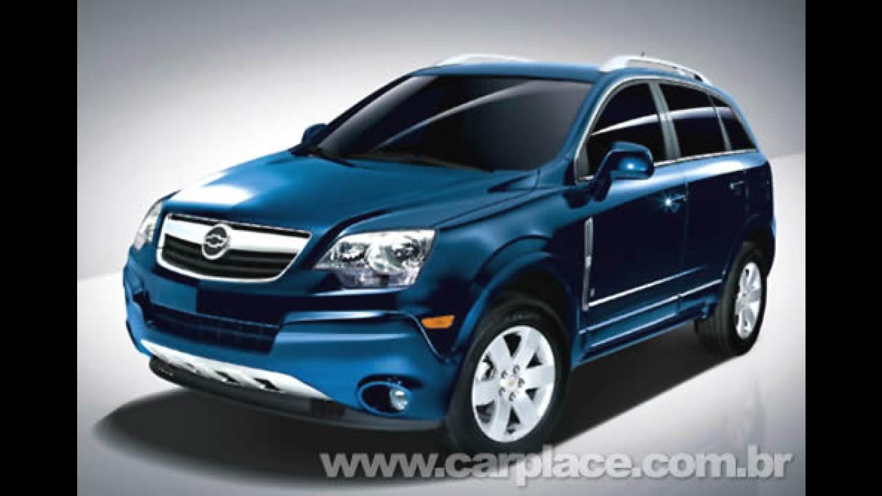 Oficial: Chevrolet confirma lançamento do Captiva Sport no 2º semestre de 2008