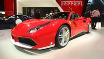 Ferrari 488 Spider 70th anniversary Paris Motor Show
