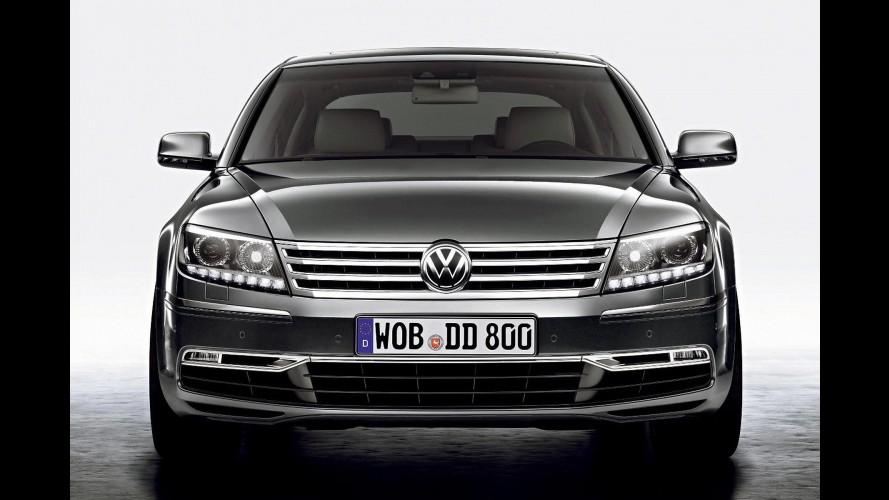 Yeni VW Phaeton üretimi yüksek maliyetlerden dolayı sekteye uğradı