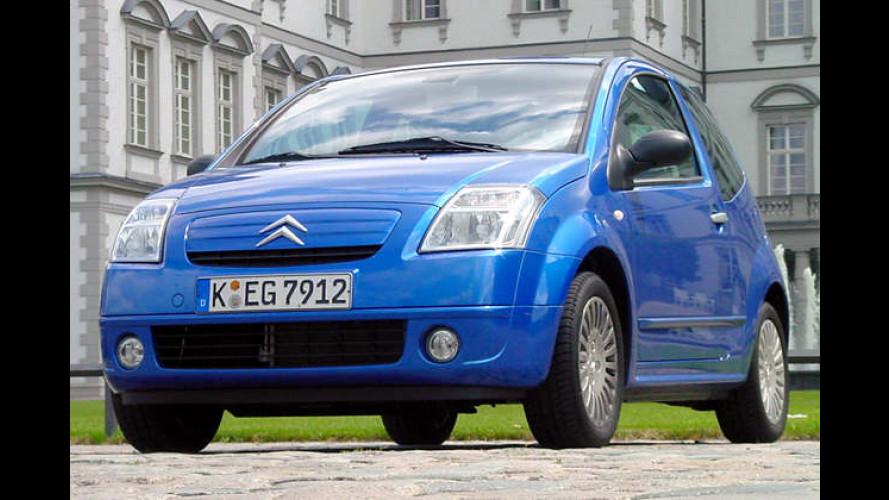 Citroën C2 1.4 HDi Sensodrive: Stadtwiesel mit Diesel