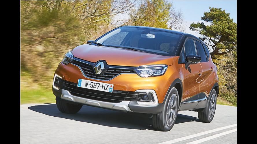 Renault Captur TCe 120 nach dem Facelift im Test