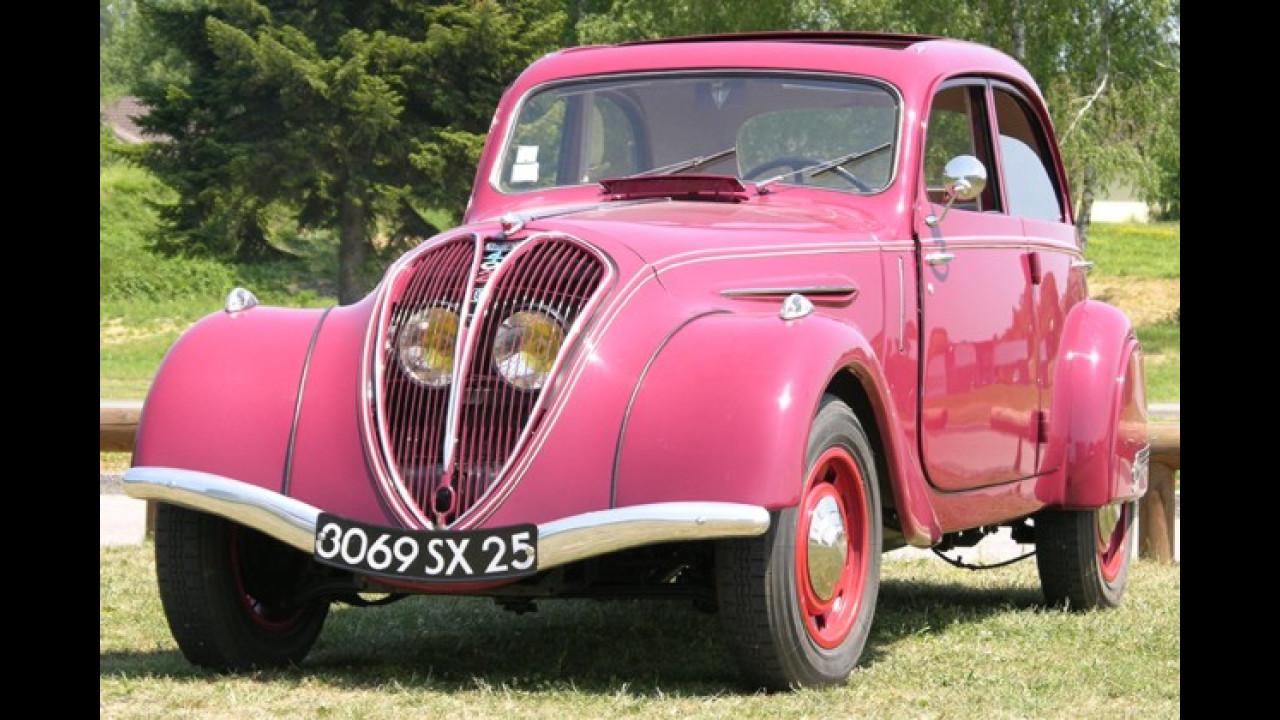 Peugeot 402 als Sportversion