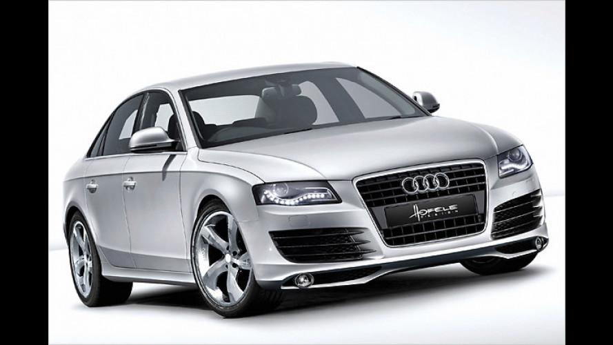 Starkes Gesicht: Hofele verpasst Audi A4 ein Tuning-Paket