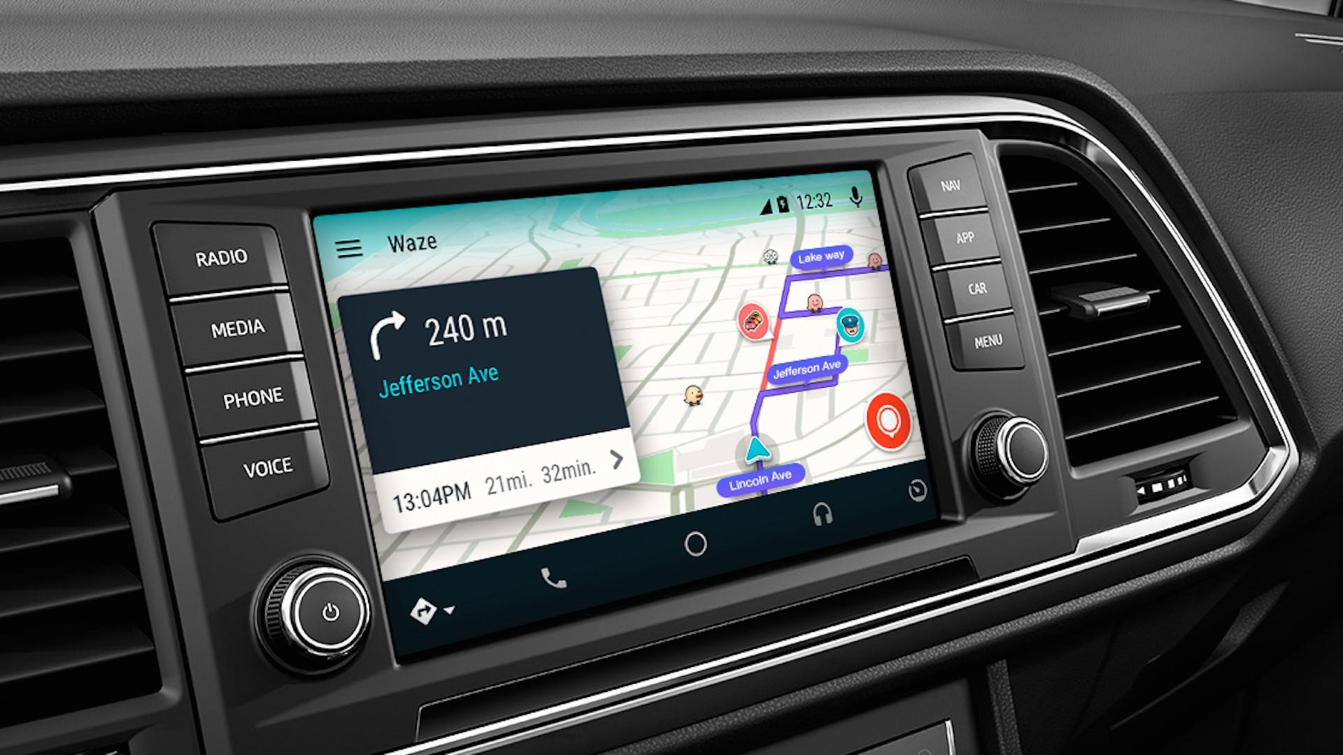 Now You Can Access Waze On Android Auto