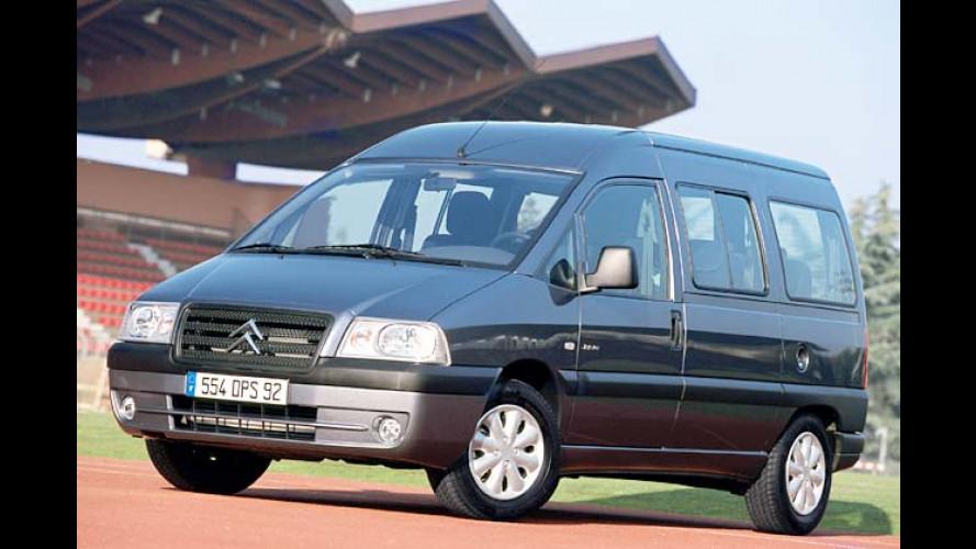 Citroën Jumpy (2004): Neuauflage des kleinen Transporters
