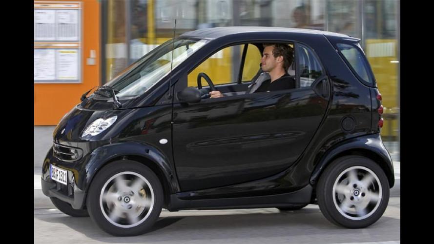 Smart Fortwo Purestyle: Schwarz fahren, Geld sparen