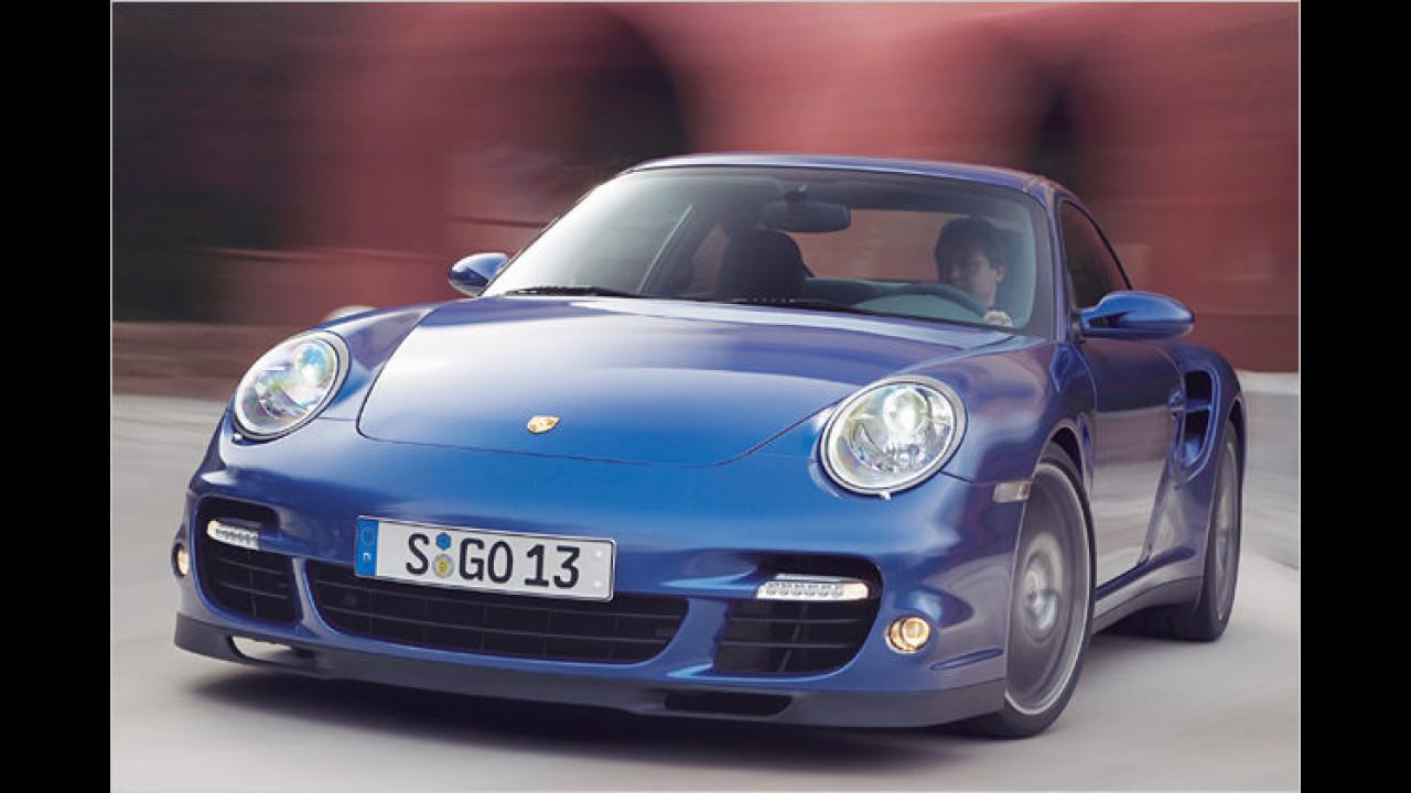 Porsche im Aufwind