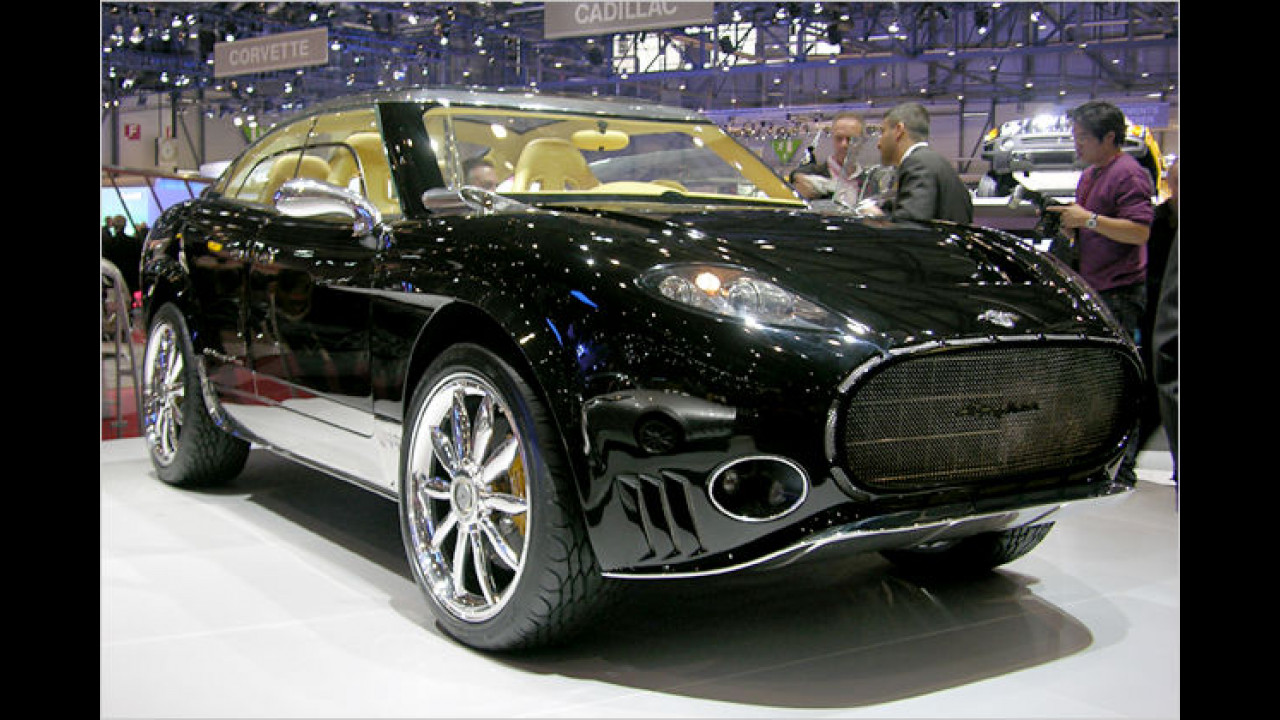 Spyker D12 Peking to Paris