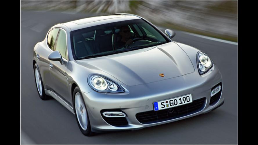 Vier gewinnt: Porsche zeigt den neuen Panamera