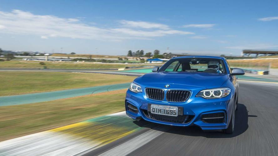 Aceleramos os novos BMW M140i, M240i, X5M e Mini JCW no Autódromo de Interlagos