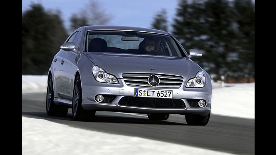 Mercedes in Genf: CLS 63 AMG, CLK 63 AMG und mehr