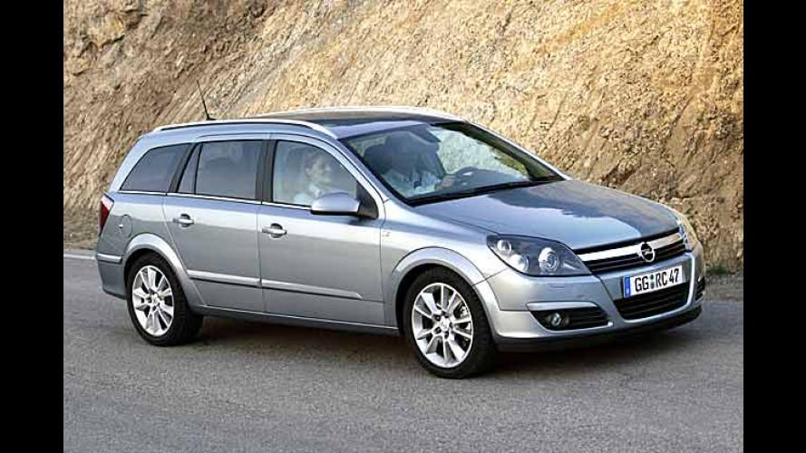Opel Astra Caravan: CD-Radio und Klimaanlage im Paket