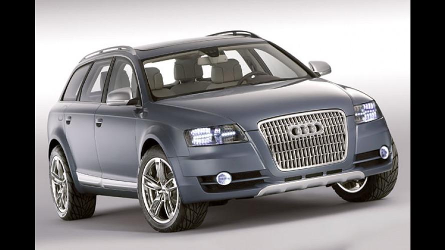 Audi setzt Offroad-Offensive fort: A6 Allroad Quattro kommt