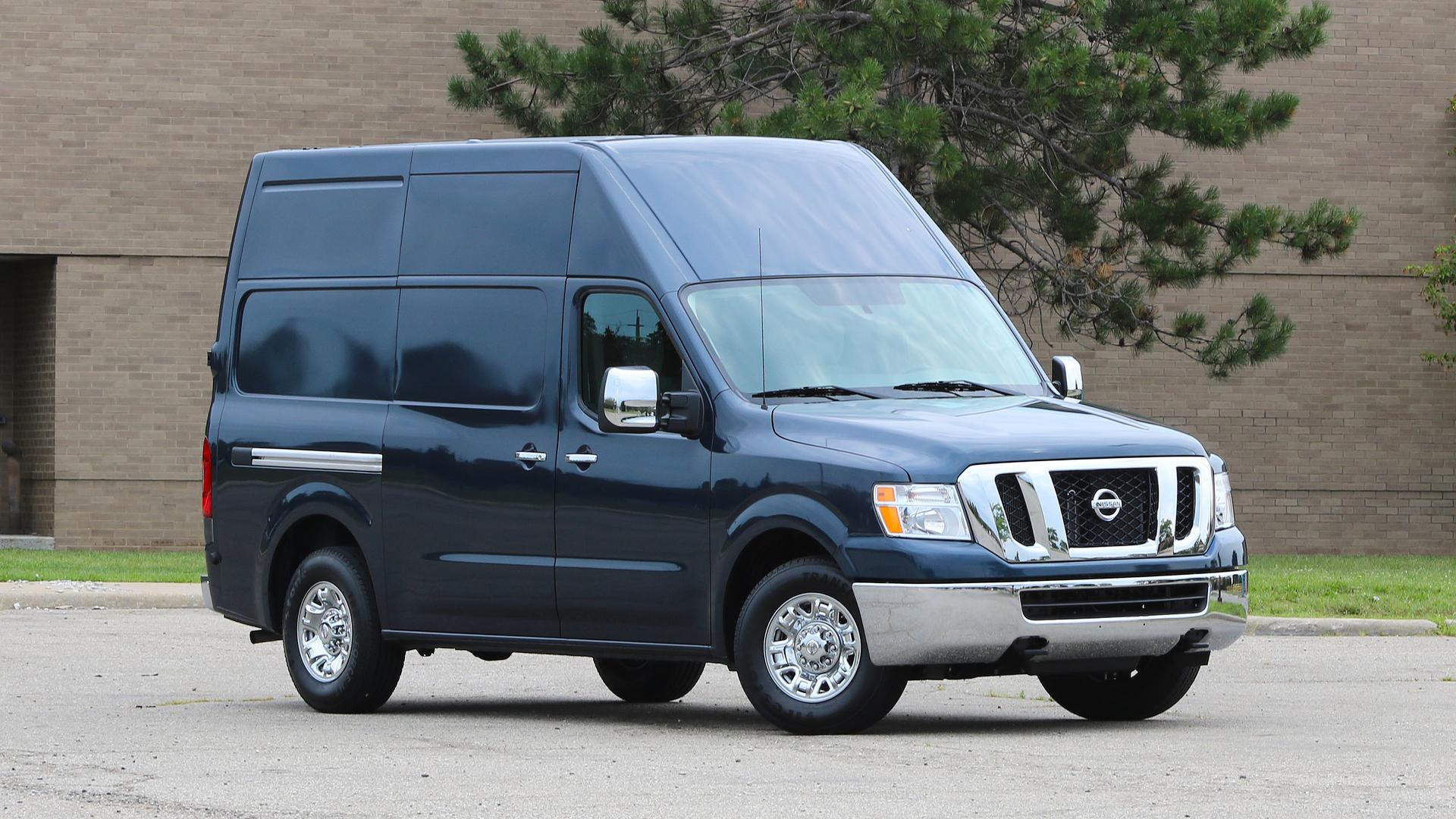 Nissan nv3500 passenger van review