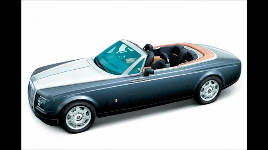 British Open: Salon-fähige Studie am Rolls-Royce Stand
