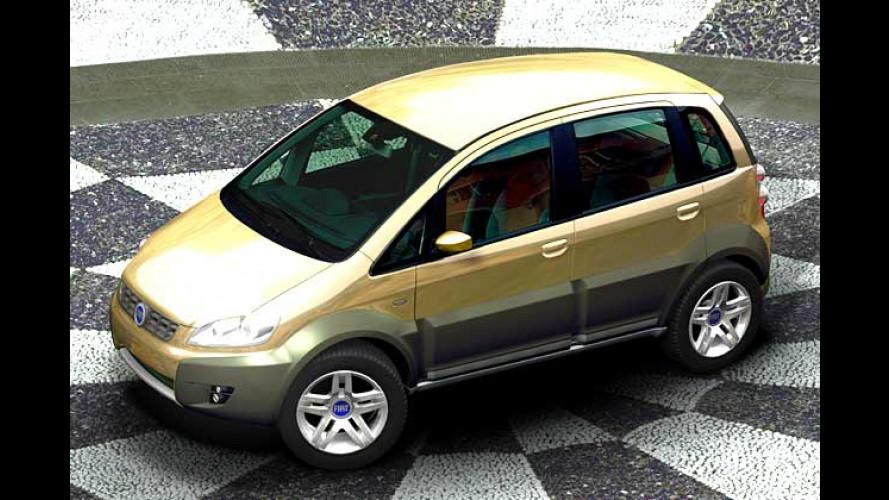 Zwischen Offroader und Minivan: Die Studie Fiat Idea 5terre