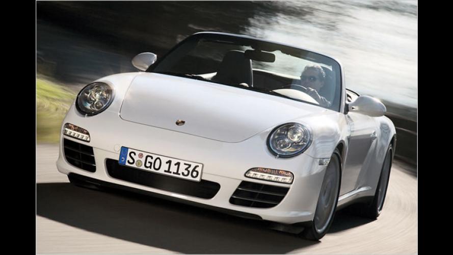 Überarbeiteter Porsche 911 Carrera 4 mit neuem Allradantrieb