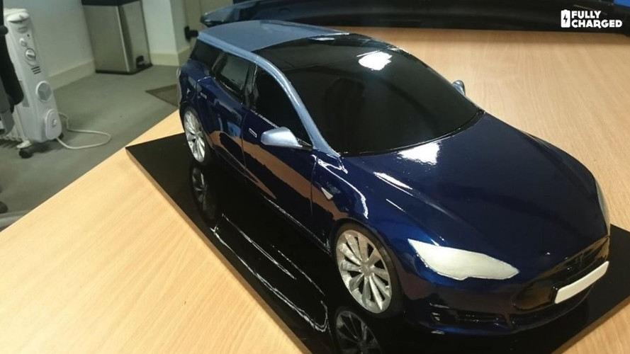 Anyone Fancy A Tesla Model S Estate Wagon? Build Underway!