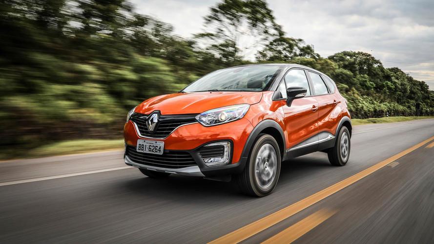 SUVs compactos em janeiro: em alta, Captur e Duster levam Renault ao pódio