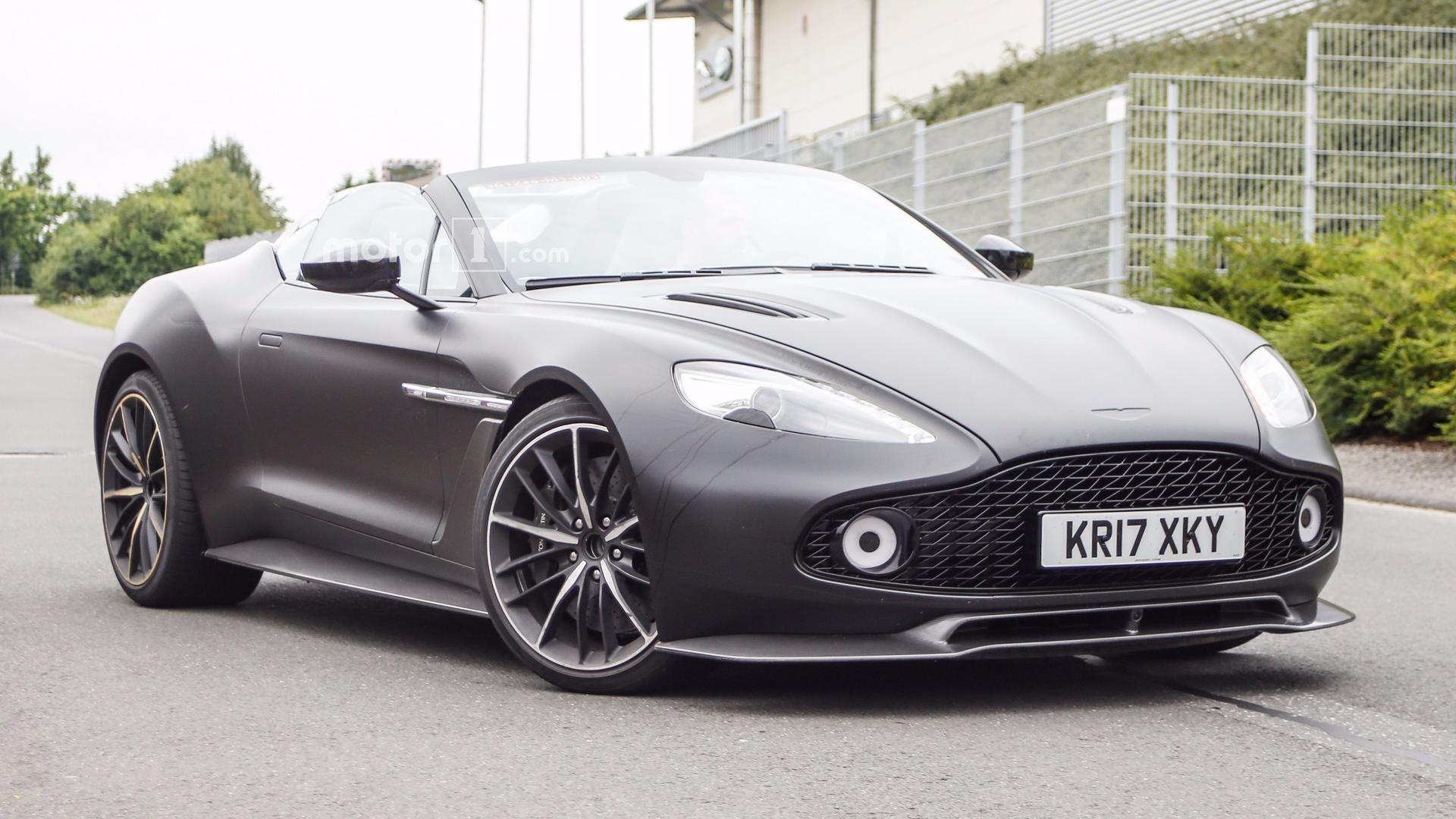 Aston Martin Vanquish Zagato Speedster Spy Photo 2247309