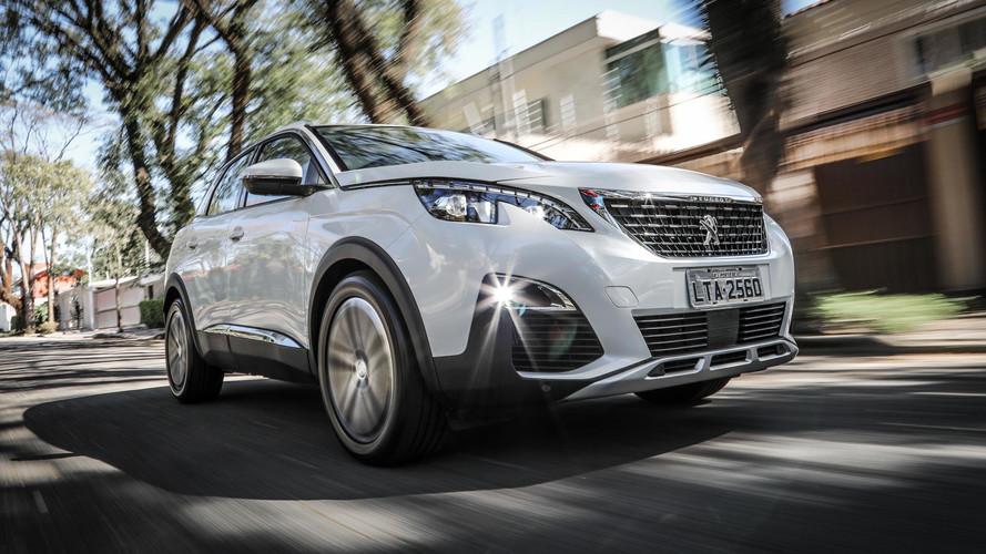 Peugeot dá taxa zero e bônus de até R$ 10 mil na troca em seus SUVs