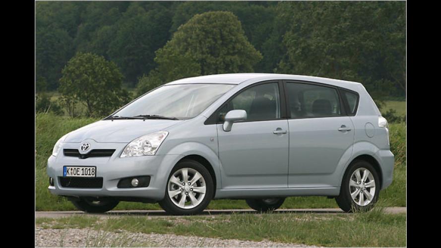 Dezentes Facelift für den durchdachten Toyota-Siebensitzer