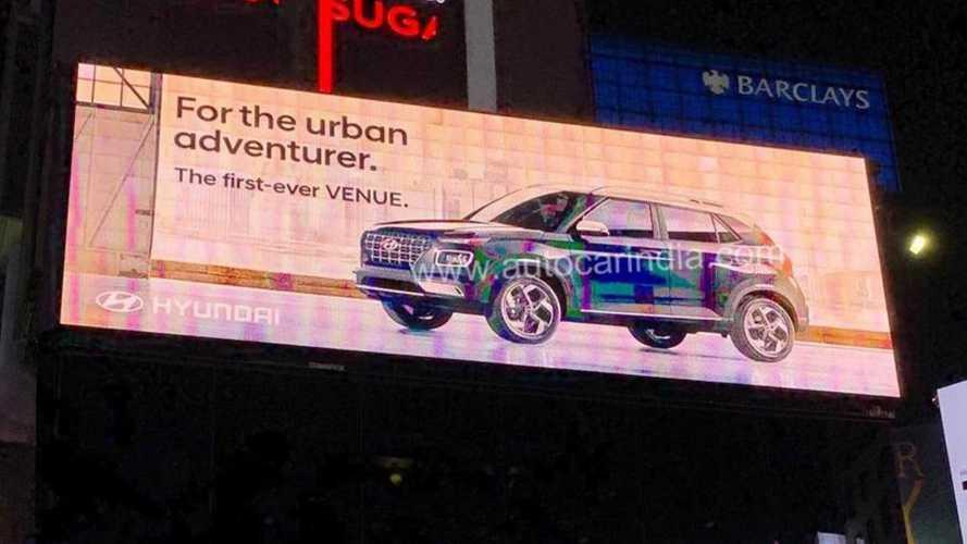 Hyundai Venue (mini Creta) tem novas imagens vazadas pouco antes da estreia