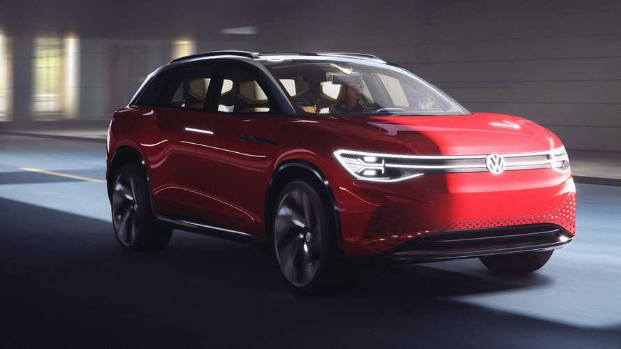 VW reveals I.D. Roomzz electric SUV concept with 280-mile range