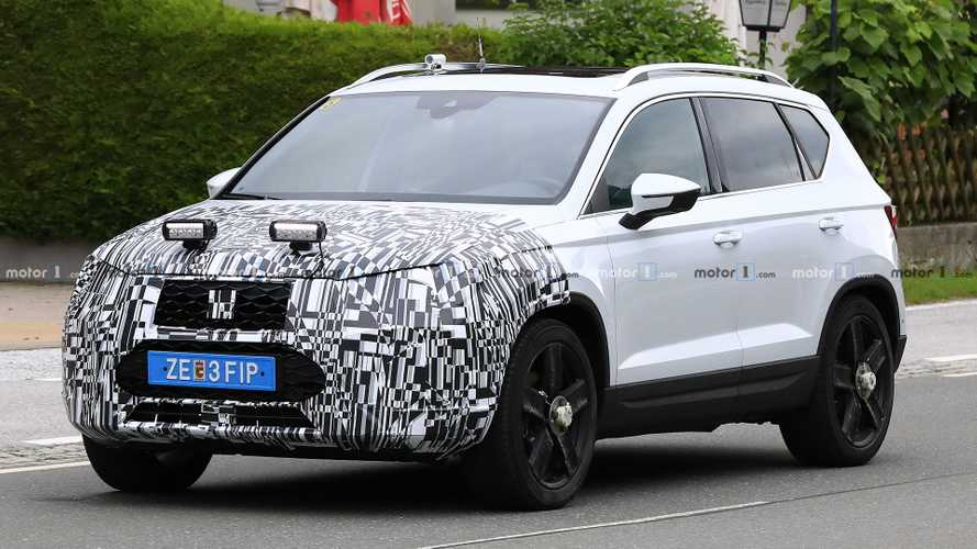 SEAT Ateca Facelift Spied For The First Time