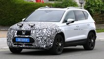 seat ateca facelift spied