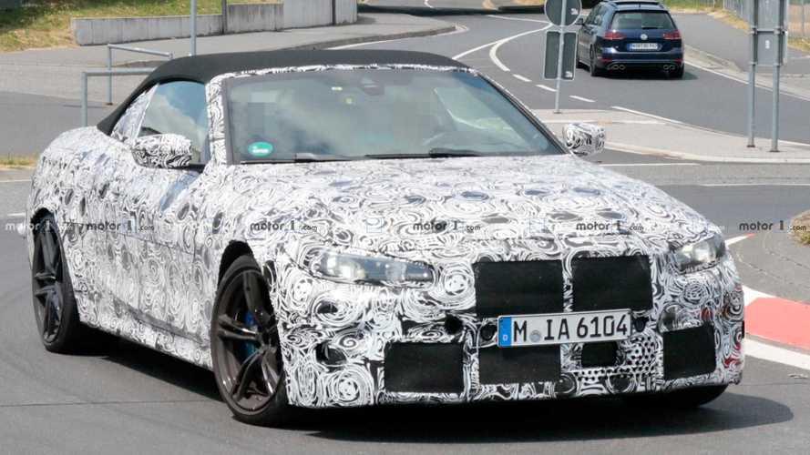BMW M4 Cabrio 2020, espiado el deportivo que superará los 500 CV