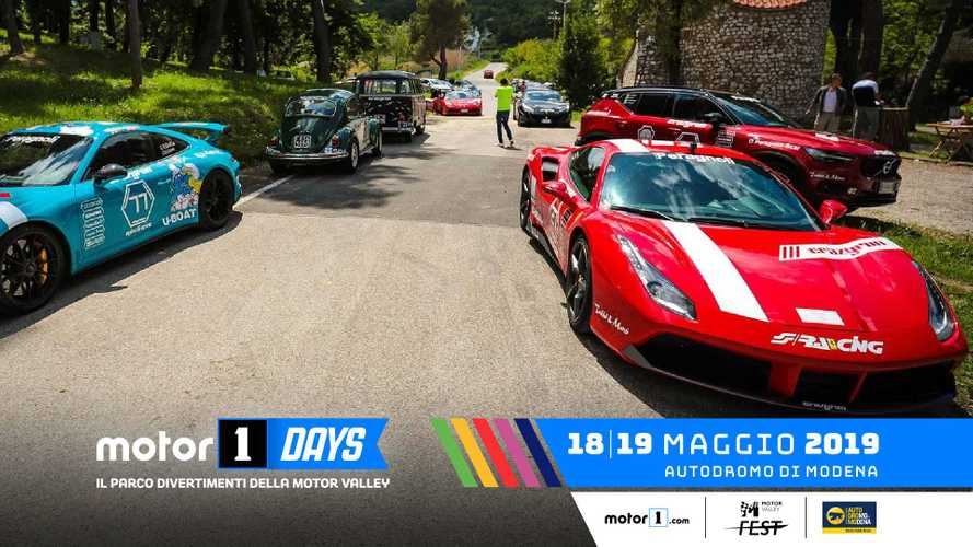 Crazyrun e Ferrari Club Italia, la passione corre ai Motor1Days