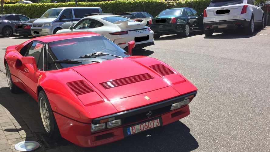 German Polices On The Hunt For Stolen Ferrari 288 GTO