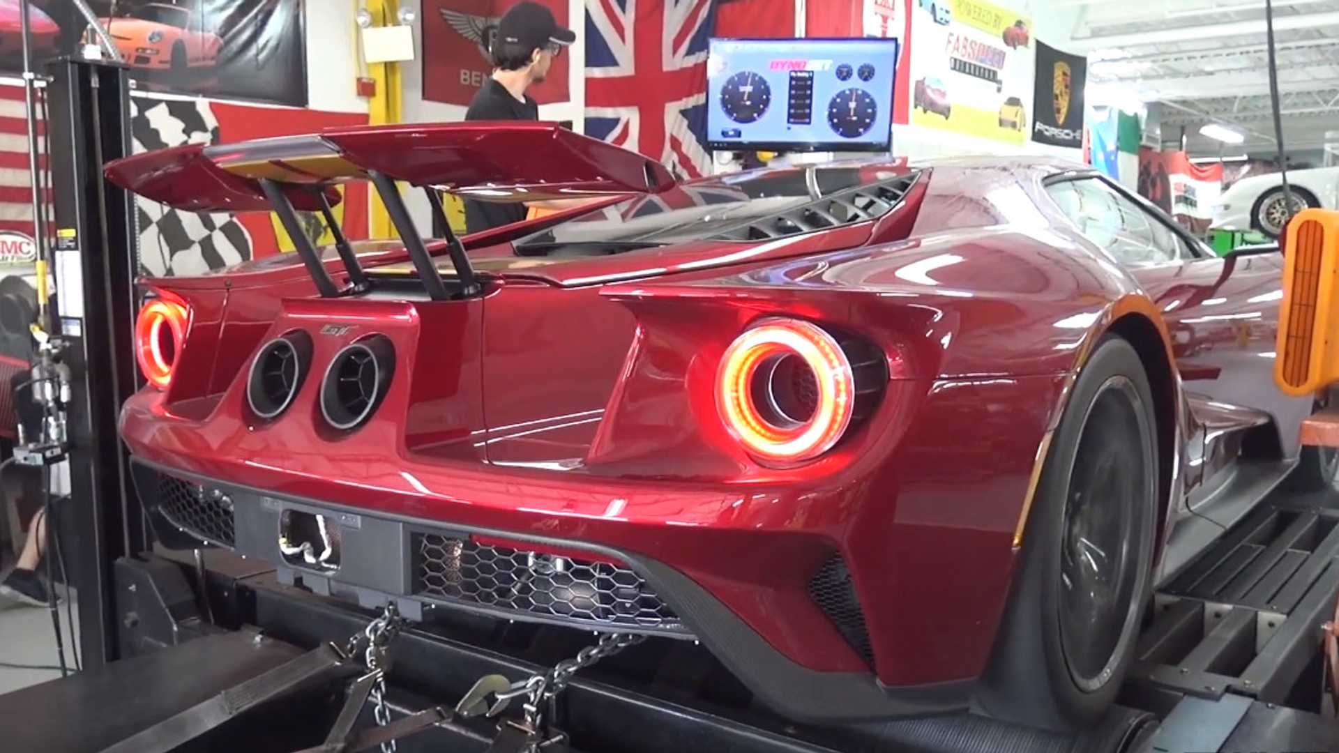 ford gt 2020 specs