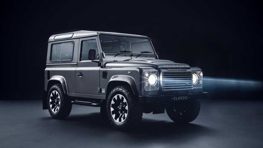 Land Rover Reinvigorates Older Defender With New Upgrades