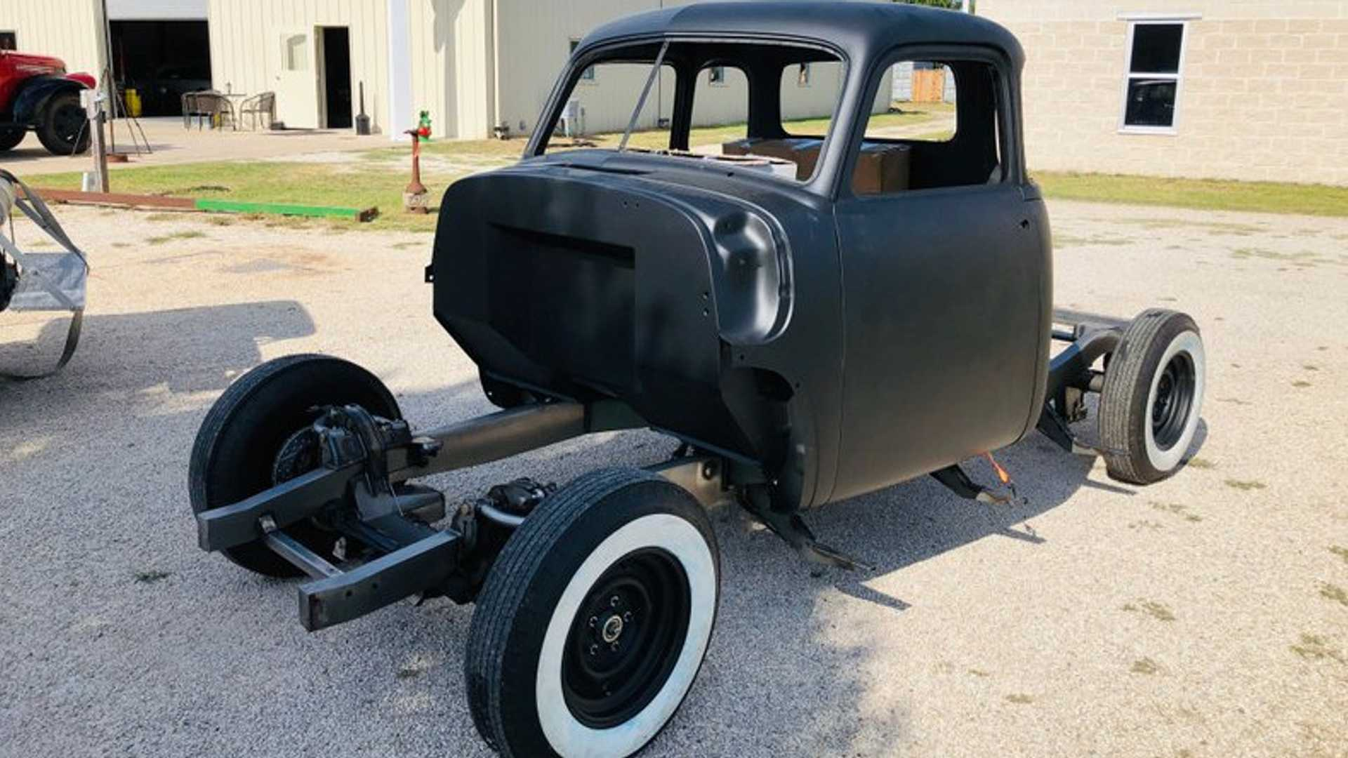 """[""""Project 1953 Chevrolet 3100 Is A Blank Canvas""""]"""