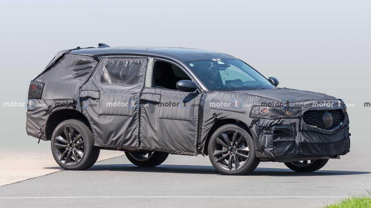 2020 Acura MDX Type-S Spied Showing Its Grille And Not ...