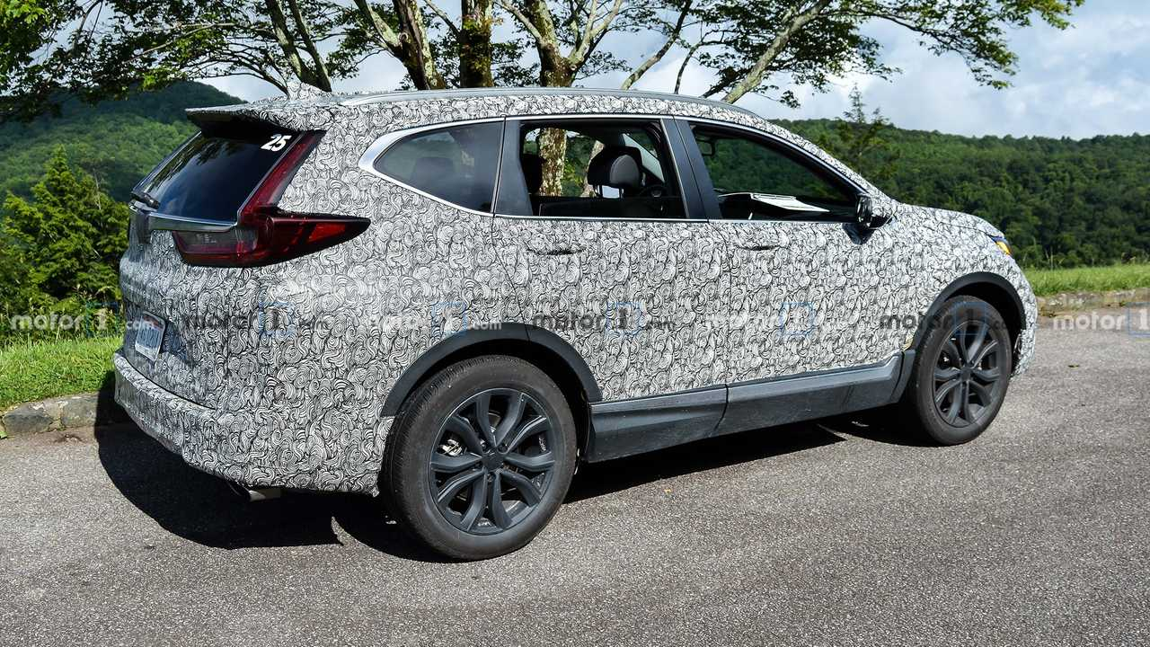 2020 Honda Cr V Facelift Spied For The First Time