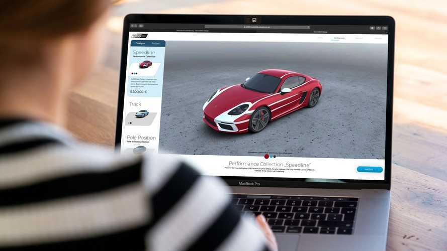 Porsche Digital startet Online-Plattform für Fahrzeugfolierungen