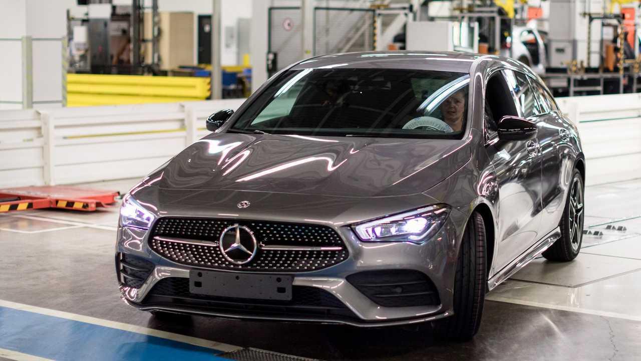 Mercedes-Benz CLA Shooting Brake production start