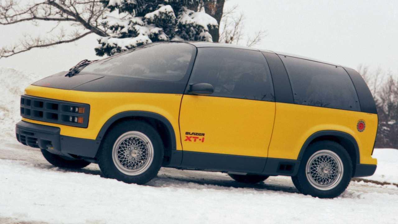 1987 Chevy Blazer XT-1: Concept We Forgot