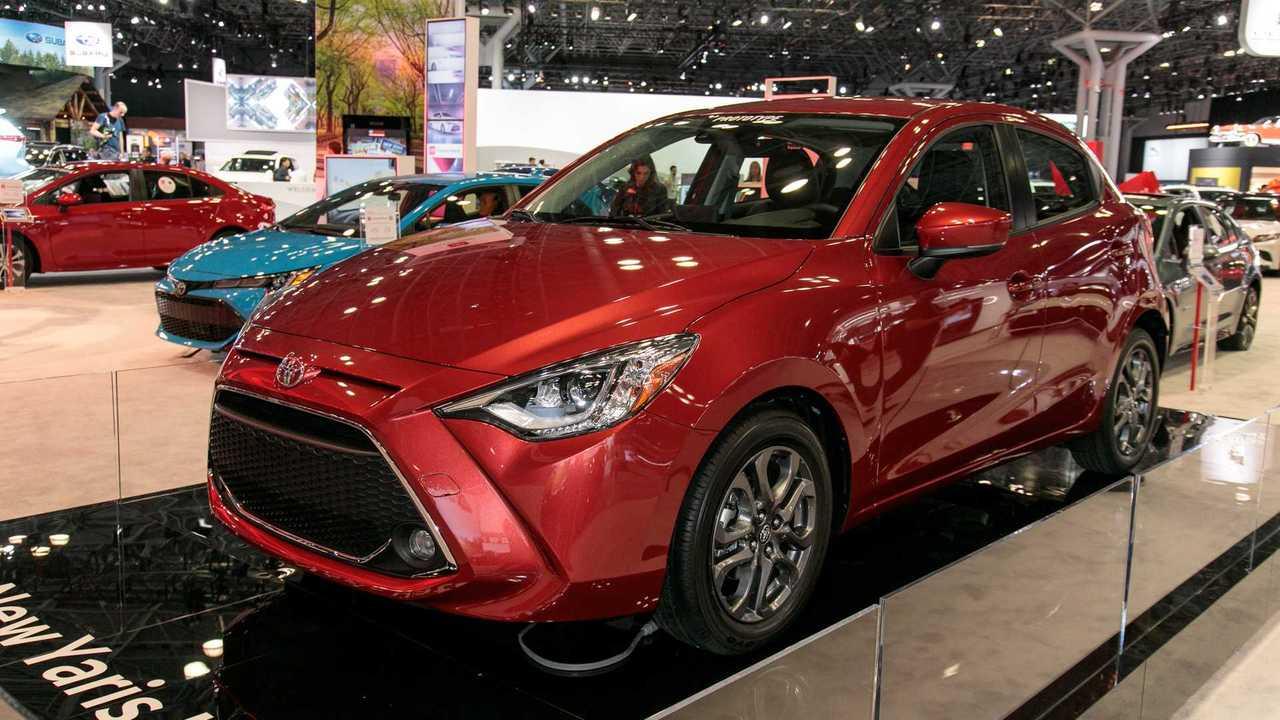 2020 Toyota Yaris Hatchback Live Photos