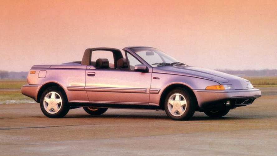 1990 Volvo 480 Cabrio: забытые концепт-кары